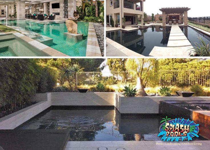 modern swimming pool design splash pools and construction - Swimming Pools Design And Construction