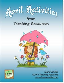Your students will have fun while learning when you use the activities in the April Mini Pack! You'll find 26 pages of printables, answer keys, and directions for special days in April. Preview the packet from this page.$