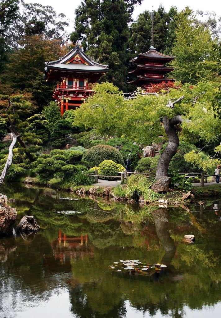 "son-0f-zeus: "" San Francisco Japanese Tea Garden - Temple Gate and Pagoda 5 | Paul Turner """