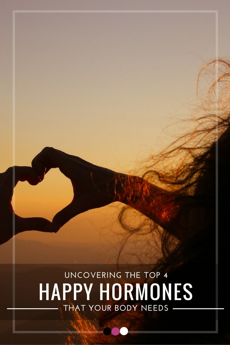 Time to uncover the best happy hormones that your body needs!
