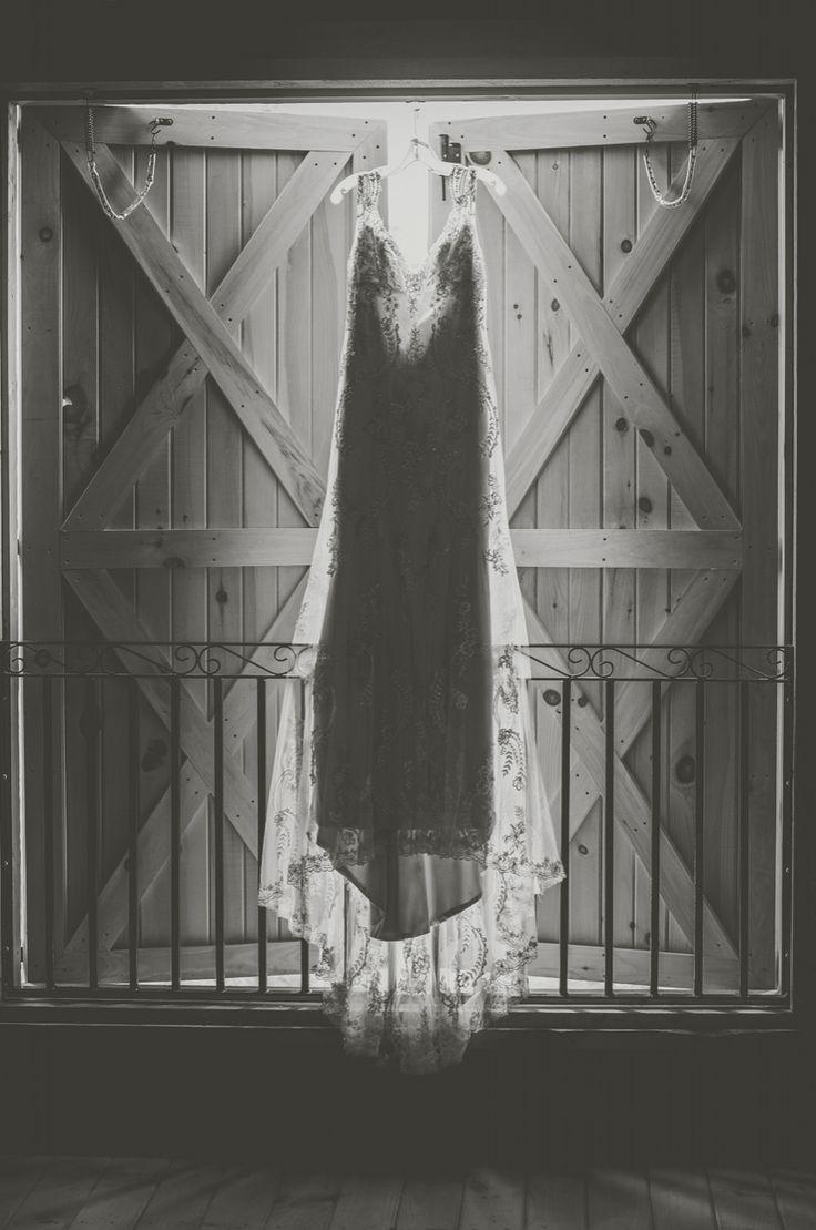 lace open back wedding dress Rustic Barn Country Wedding Lions Garden Tofield Shalene Dawn Photography Edmonton Alberta Wedding Photographer