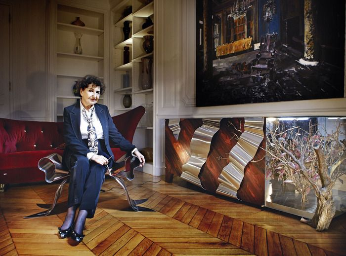 Half a century ago, Maria Pergay astounded the design world with her extraordinary creations in stainless steel. Now, aged 82, she's making waves again with daringly different works in copper and bronze. Read the full article here: http://howtospendit.ft.com/furniture/20103-steeling-the-show#