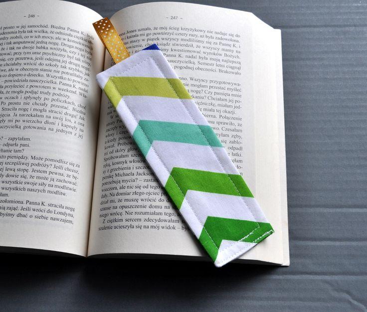 Zakładka do książki bookmarks sewing