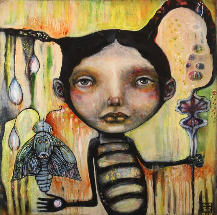 Imaginary Characters: Mixed-Media Painting - Yahoo Image Search results