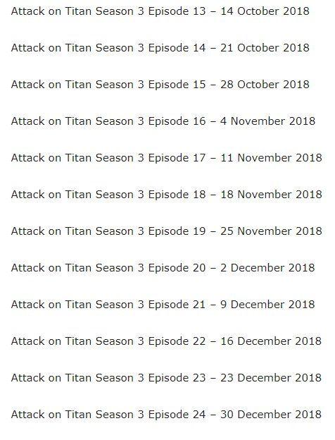 attack on titan season 3 - Twitter Search | Anime | Attack