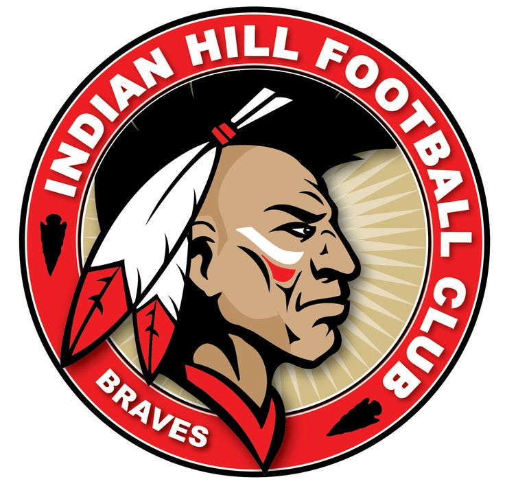 indian hill football club logo braves sports Atlanta Braves Logo Clip Art Atlanta Braves Old Logo