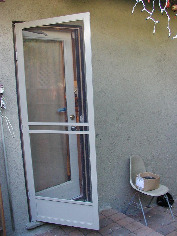 Aluminum Screen Doors For Mobile Homes