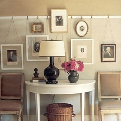 15 Old House Features We Were Wrong to Abandon... I have picture rail moulding in my house I really should use them.