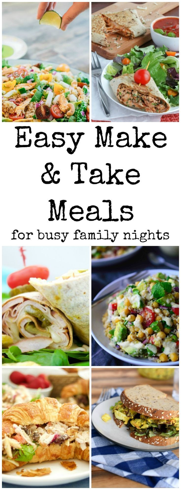Have a busy night schedule with lessons, soccer practice and the baseball field? These easy take and make meals are perfect healthy picnics for your family! via @GingeredWhisk
