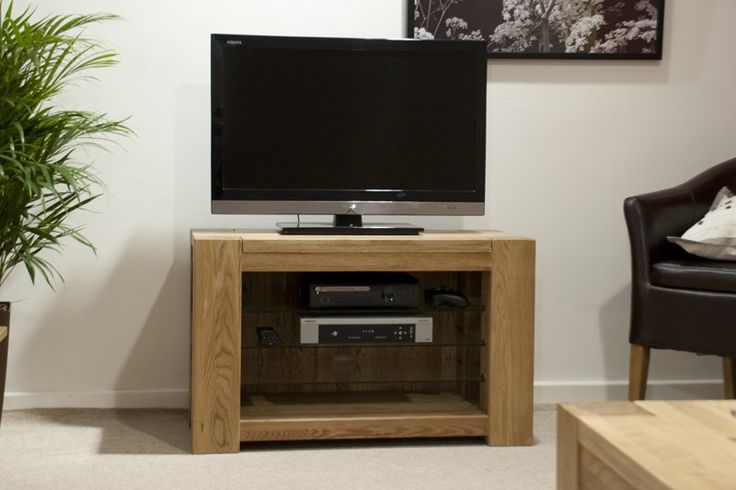 Pandora Solid Oak TV Cabinet