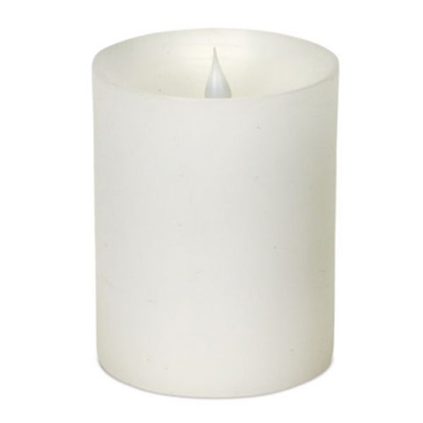 These candles are so neat! They have a moving flame to give off a flickering look!