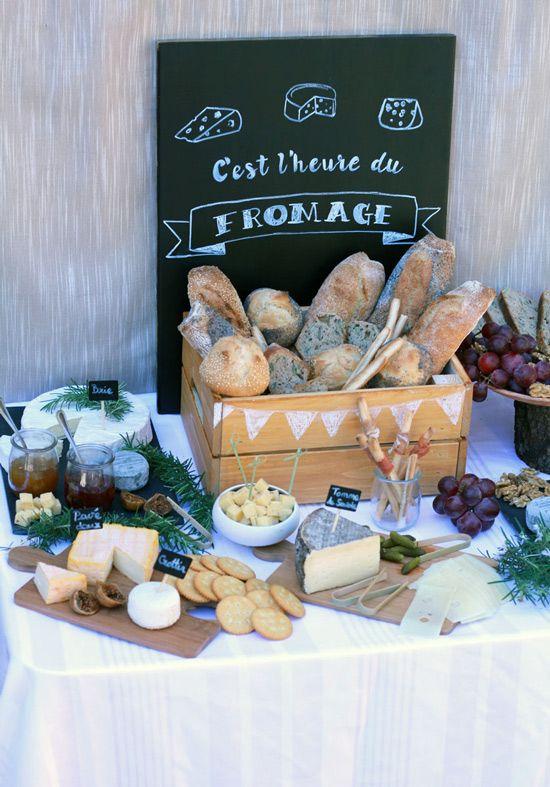 Bar à fromages : une idée de buffet originale !