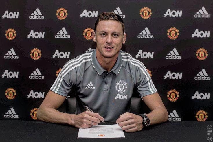Nemanja Matic signs for United