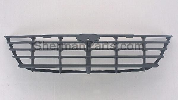 2005-2007 Chrysler Town & Country Grille Gray