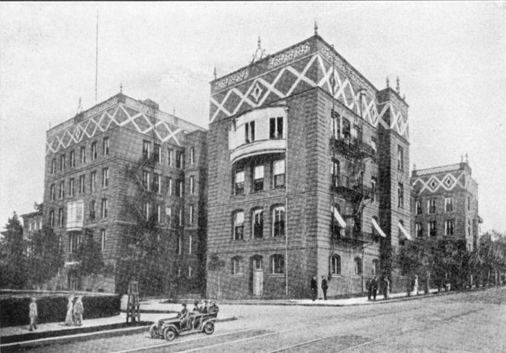 Good samaritan hospital exterior 1910 portland city