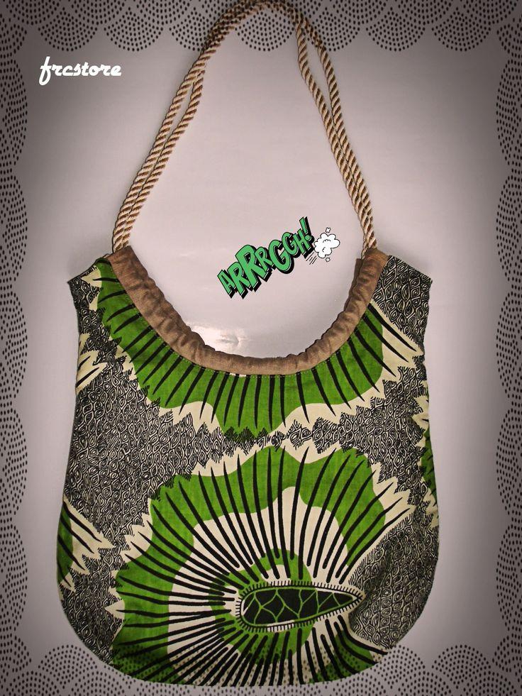 Handmade bag - Kiwi www.frcstore.cz
