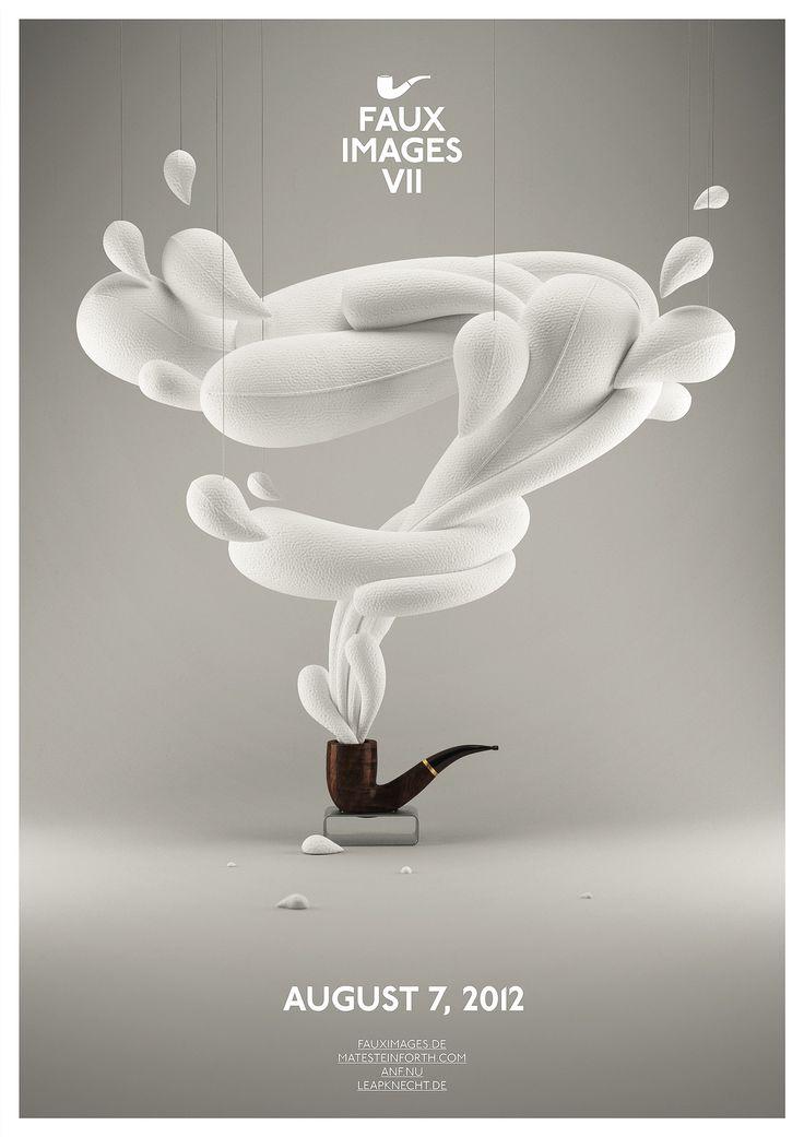 Faux Images VII: Graphic Design, Ui Design, Mates Steinforth, Graphics Design Inspiration, Up North, Art, Poster, Images Vii, Faux Images