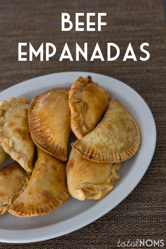 How to Make Beef Empanadas - Total Noms www.totalnoms.com