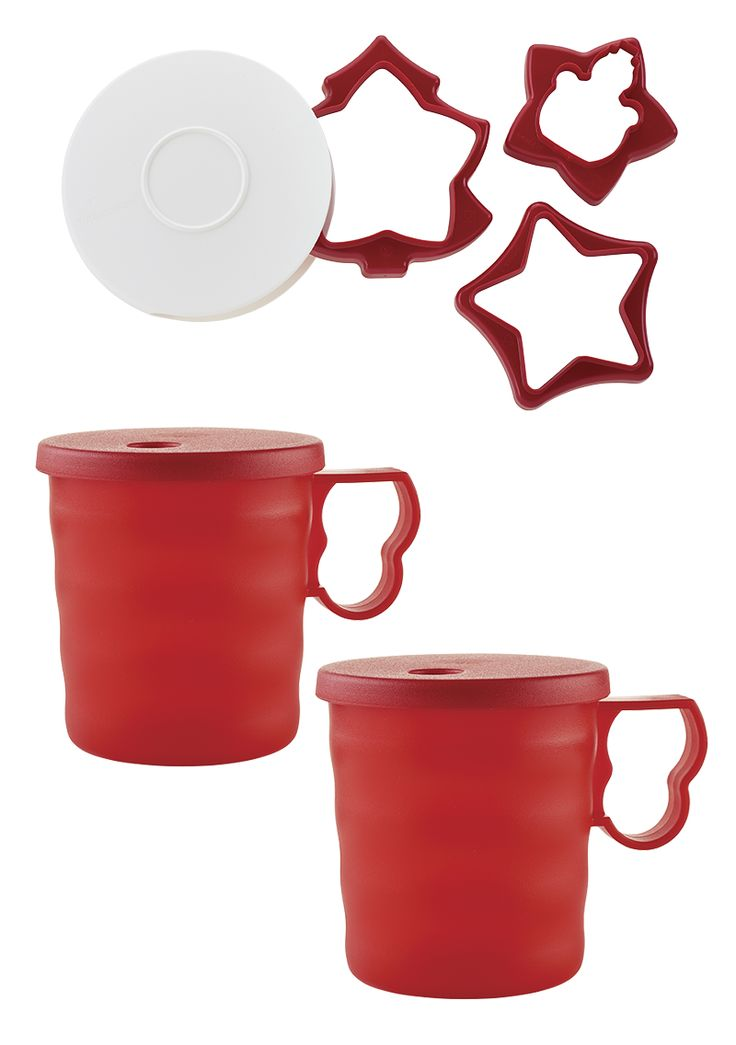 Tupperware® Impressions Mugs and Holiday Cookie Cutters. Tupperware Brands Foundation is proud to support organizations like Boys & Girls Club of America and others. For each of these items you purchase, we'll donate a portion of the purchase price.