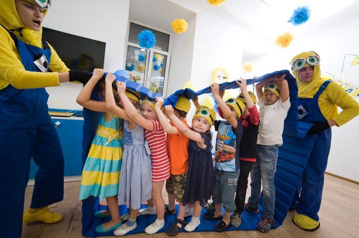 игры с миньонами на детский день рождения