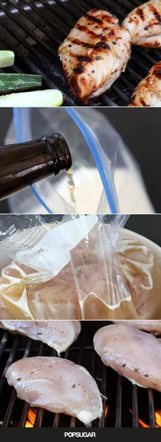 Beer Brined Chicken Breasts