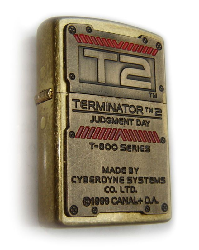 Zippo TERMINATOR 2- JUDGMENT DAY - PROTOTYPE ! LIMITED 1/1 EDITION MEGA RARE