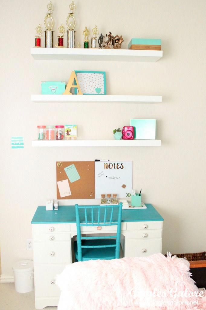 Is your little girls bedroom decor ready for an update? Transform a