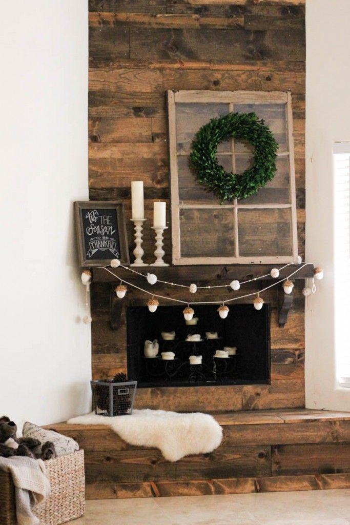 Best 25 rustic fireplace decor ideas on pinterest for Rustic fireplace decor