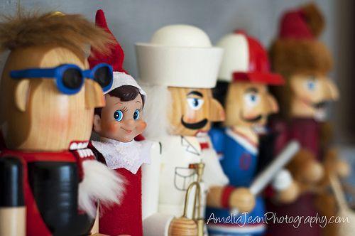Elf on the Shelf Nutcracker