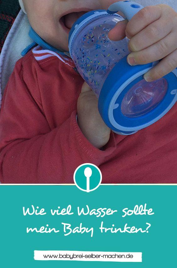 Wie viel wasser sollte mein baby trinken babies