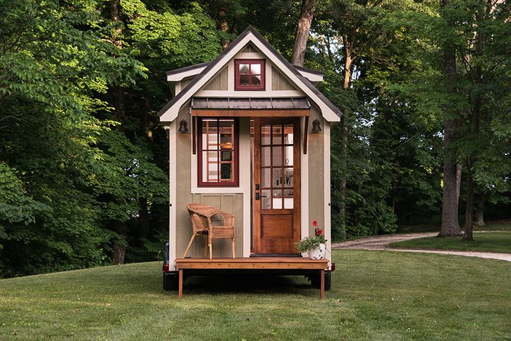 At first glance, this cute little home is quite the charmer (that fold-out porch!), but step inside and you'll be shocked to find this tiny house feels like anything but! Designed by Timbercraft Tiny Homes, this sweet little abode is just as nice as any farmhouse. Take a peek inside.