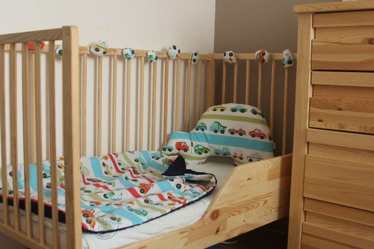 jak przerobić łóżeczko niemowlęce na dziecięce