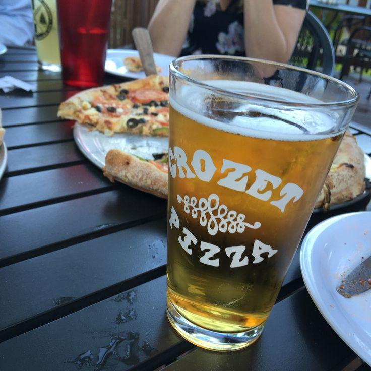 2 Crozet Pizza locations: the original in Crozet, VA and a second location near UVA on Elliewood Avenue