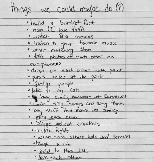 <3: Boyfriends To Do Lists, Cat Things, Relationships Boyfriends, Boyfriends Lists, Married Life, Fun Things, Random Stuff, Relationships To Do Lists, Things To Do
