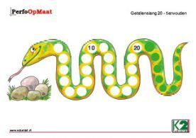 slang met alleen 10 en 20
