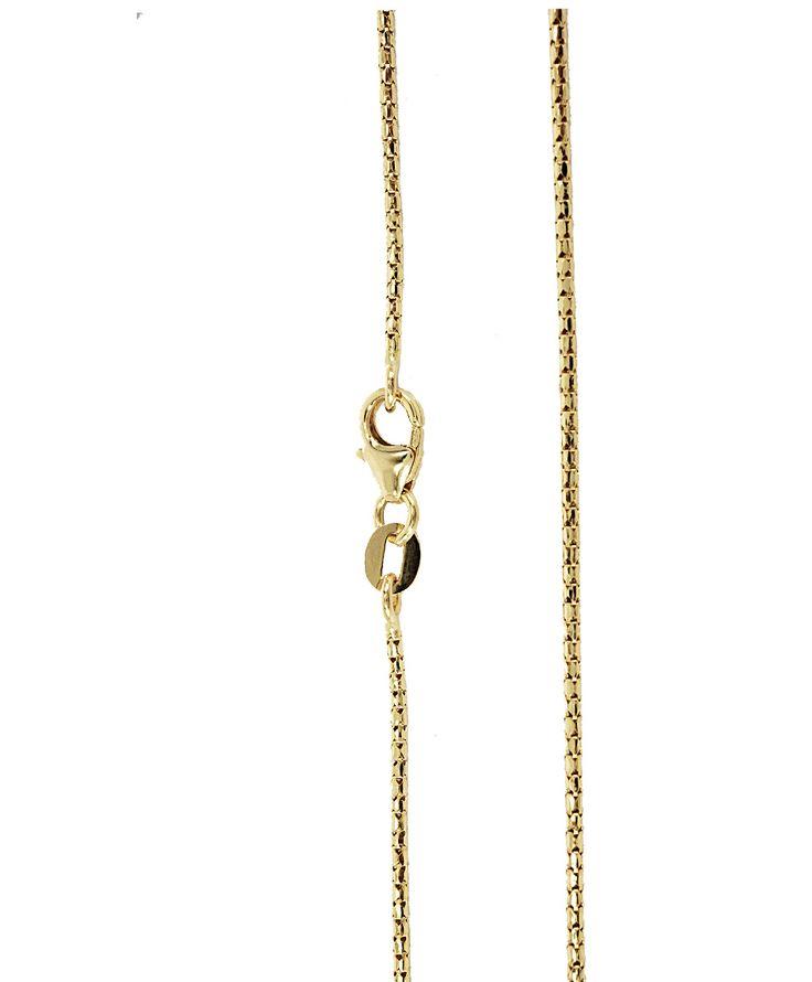 Αλυσίδες : Αλυσίδα χρυσή Κ14-50cm AL124