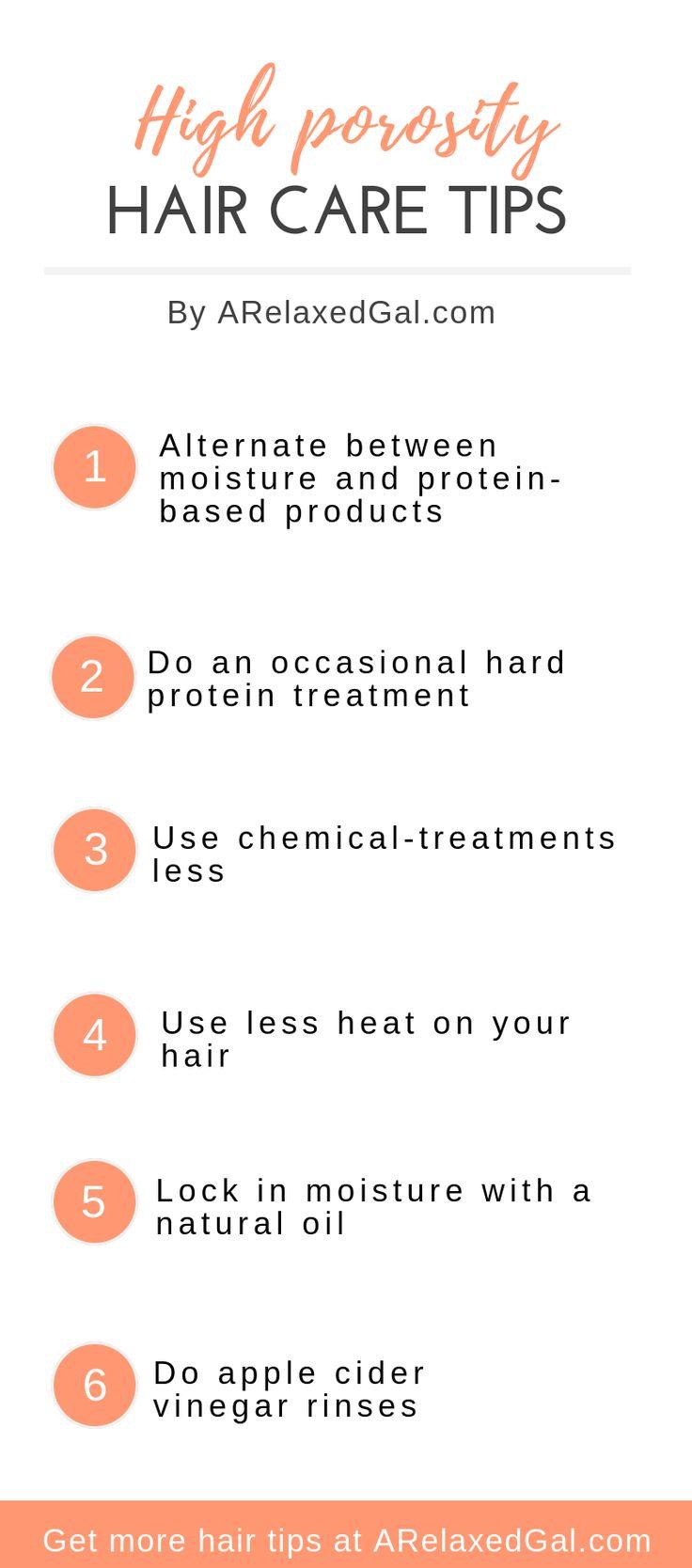 Tips For Taking Care Of High Porosity Hair