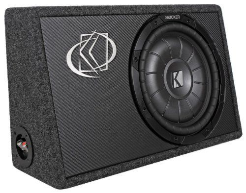 """Brand New Kicker 10TCVT102 Compact Single 10"""" 800 Watts Peak / 400 Watts RMS 2-Ohm Comp VT Loaded Car Audio Subwoofer with Slim Enclosure Great for Trucks by Kicker. $229.95. Brand New Kicker 10TCVT102  Compact Single 10"""" 800 Watts Peak / 400 Watts RMS 2-Ohm Comp VT Loaded Car Audio Subwoofer with Slim Enclosure Great for Trucks Features:      Kicker 10TCVT102 10""""CVT Car Audio Subwoofer     Peak Power: 800 Watts     RMS Power: 400 Watts     Impedance: 2 Ohms     Woofer..."""