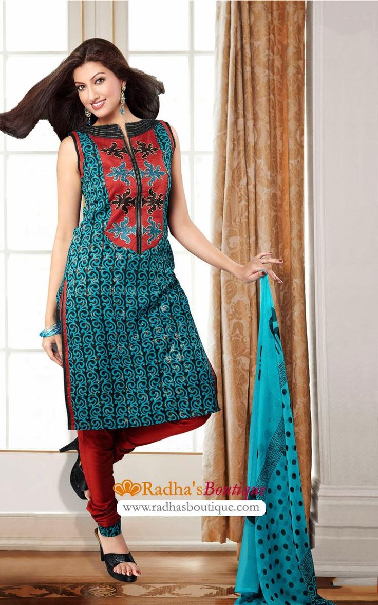 Cotton Salwar Suit (VDI21554)