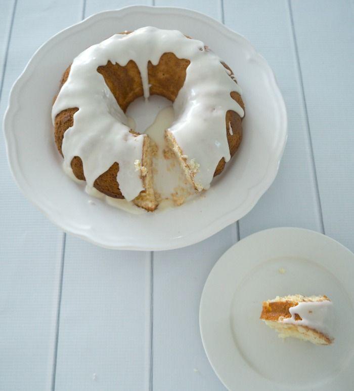 One bowl lemon cake