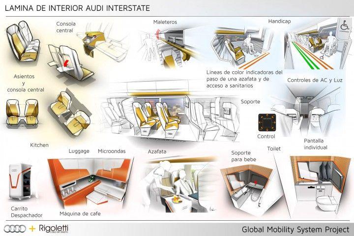 bus interior design concepts - Google Search