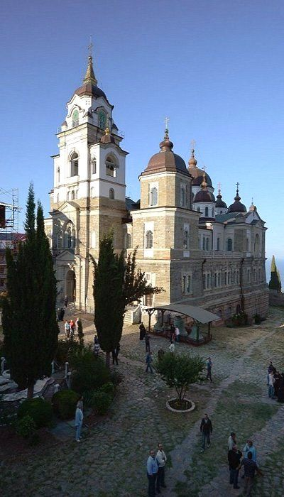 The Skete of Saint Andrew in Karyes, Mount Athos