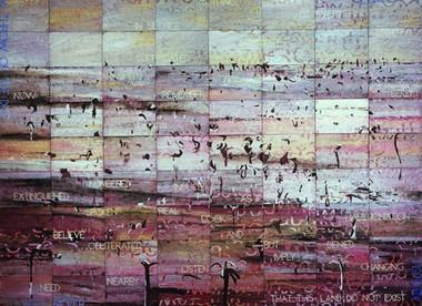 Imants Tillers - Melancholy landscape
