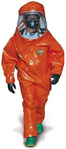 KAPPLER ZYTRON 500 FULLY ENCAPSULATED LEVEL A SUIT. ORANGE. Z5H550. SIZE 4XL http://www.safetygearhq.com/product/personal-safety/safety-clothing/kappler-zytron-500-fully-encapsulated-level-a-suit-orange-z5h550-size-4xl/