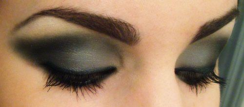 jerseylicious but not shimmery: Make Up, Eye Makeup, Eyeshadow, Smokey Eyes, Dark Eye, Smoky Eye, Beauty, Hair