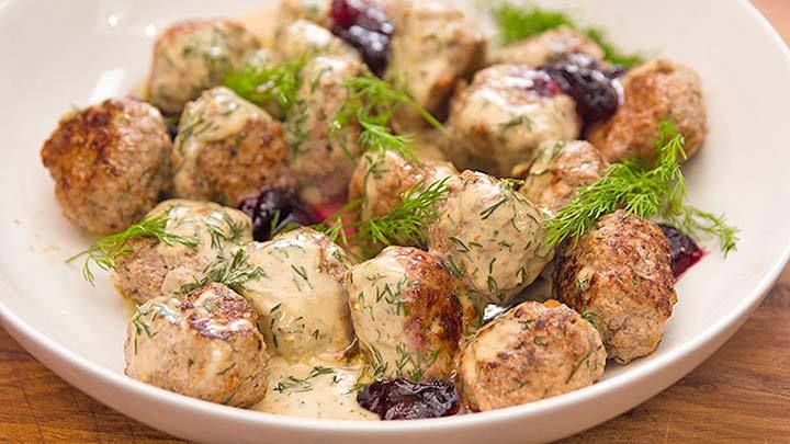 Swedish Meatballs with Cranberry Jam | Everyday Gourmet with Justine Schofield