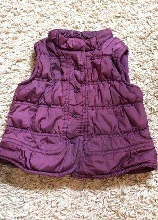 À vendre sur #vintedfrance ! http://www.vinted.fr/mode-enfants/vestes/32486471-doudoune-sans-manches-violette-fille