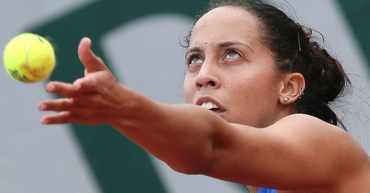 6/27/16 Via Live Tennis Results ·     Madison Keys beats Laura Siegemund 6-3 6-1 in the 1st Round at #Wimbledon #tennis