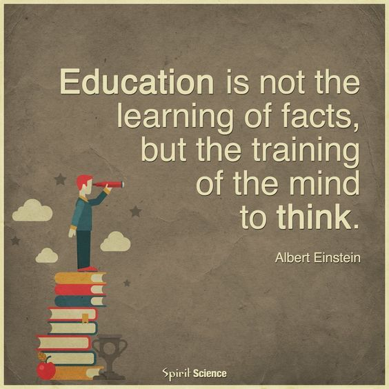 critical thinking and education quotes Teaching critical thinking: practical wisdom  education for critical consciousness (bloomsbury revelations) paulo freire 45 out of 5 stars 19 paperback.