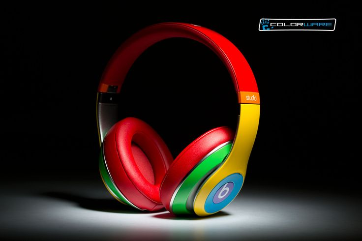 Have you ever seen a pair of Beats this colorful? Get them at ColorWare!